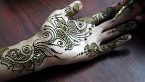 Simple & Cute Arabic Mehendi Design Front Hand ...