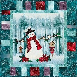 Frosty Perch Applique Pattern