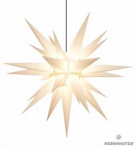 Herrnhuter Stern Beleuchtung : herrnhuter stern a13 weiss kunststoff 130 cm von ~ Michelbontemps.com Haus und Dekorationen