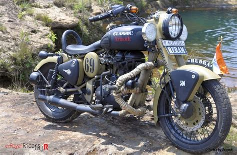 Modifying Cars In Chennai by Rudra Royal Enfield Desert Modified By Arhunki Of