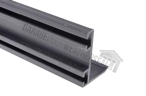 garage door bottom weather stripping garage door bottom seal track