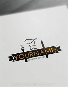 Create a logo Free - Chef Logo Templates