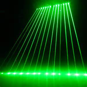 single green color laser light show systems