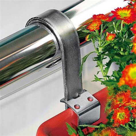 Halterungen Für Blumenkästen by Blumenkasten Halterung F 252 R Rundes Gel 228 Nder 2er Set Biber Ch