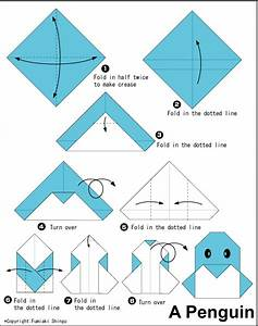 Penguin - Easy Origami instructions For Kids