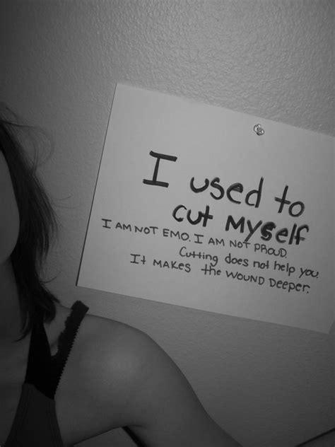 I Cut Myself Quotes Tumblr