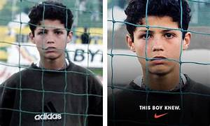 Cristiano Ronaldo Is Actually Wearing adidas in New Nike Ad