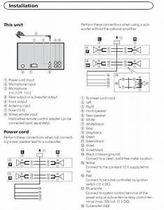 Wiring Diagram For Pioneer Amp