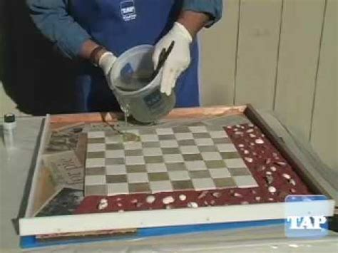 resin table top part  youtube