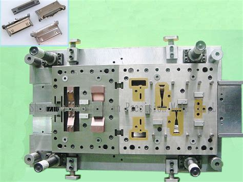 precision connector mold metal stamping mold mould  die