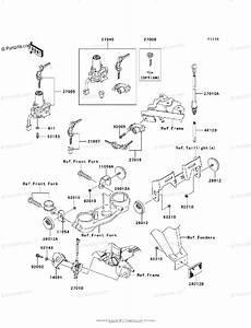 Kawasaki Motorcycle 2009 Oem Parts Diagram For Ignition