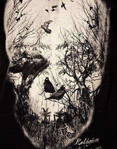 Skull Watercolor Painting Art Print Olechka