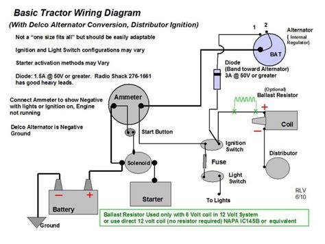 Wiring Diagram For Yesterday Tractors