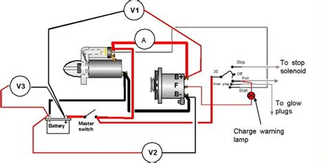 ignition circuit 3 wire alternator search