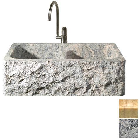 shop allstone kitchen and bath basin apron front