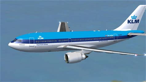 KLM Royal Dutch Airlines Airbus A310-203 for FSX