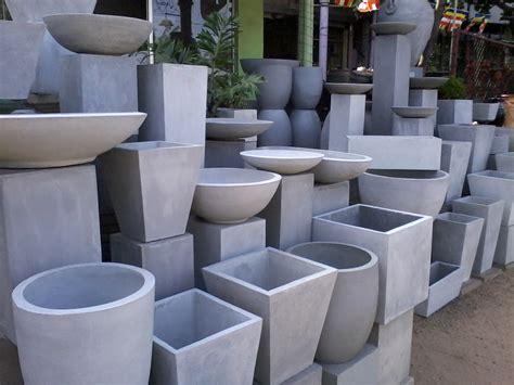 planters amusing concrete pots for sale concrete pots for sale large plant pots molds grey
