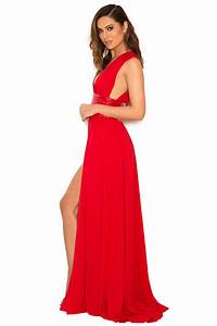 Clothing   Max Dresses    U0026 39 Sultana U0026 39  Red Chiffon Double