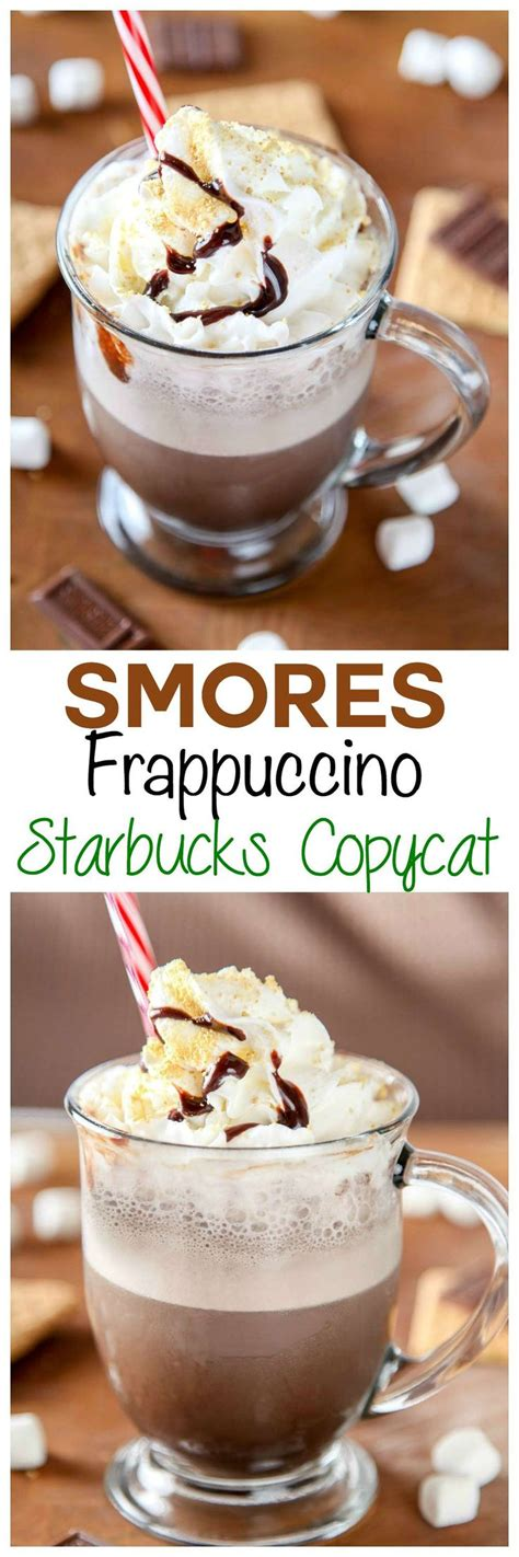 """Talk about a steep latte factor — a copycat classic coffee starbucks frappuccino (using my recipe) can save you 91.7% on a 12 oz (354 ml) tall sized beverage. Copycat Starbucks Smores Frappuchino: Save yourself a """"grande"""" amount of money by trying this Co ..."""