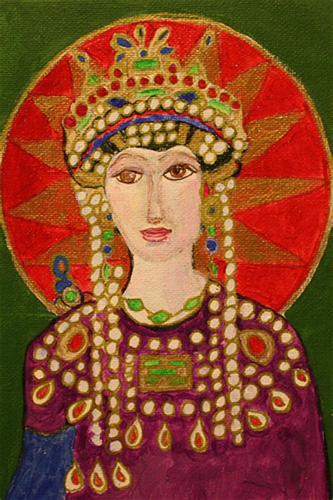 handel ls painted about theodora