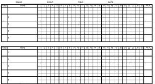 registered score sheets trap shooters forum