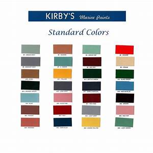 Marine Topside Paint Color Chart Paint Color Ideas