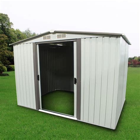 outdoor storage shed outdoor storage shed steel garden utility tool backyard