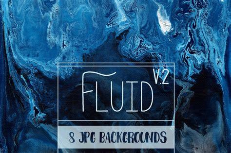Fluid Painting Backgrounds V2 Custom Designed Textures