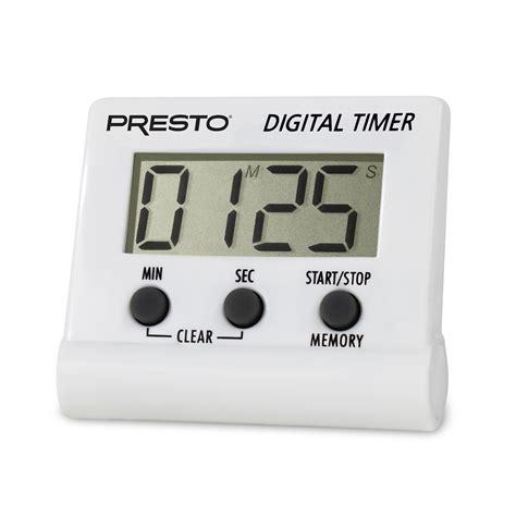 electronic digital timer digital timers presto