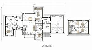 Plan Grande Maison : plan de grande maison lumineuse tage projet n 7 plans de maisons en 2019 house plans ~ Melissatoandfro.com Idées de Décoration