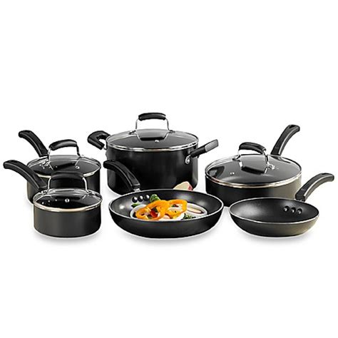 cookware everyday sets kitchen nonstick invitations piece cooking beyond bath bed items aluminum induction needs cook stick non personalization bedbathandbeyond
