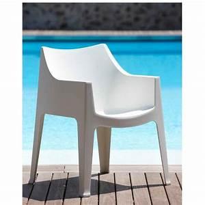 Chaise Exterieur Design : chaise de terrasse exterieur design coccolona par scab ~ Teatrodelosmanantiales.com Idées de Décoration