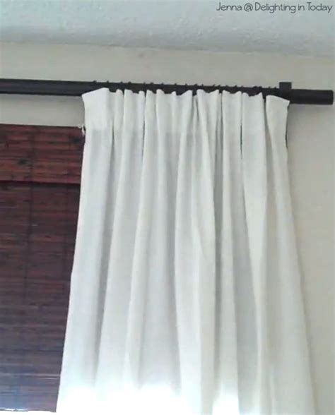tutorial  ways  hang curtains diy curtains
