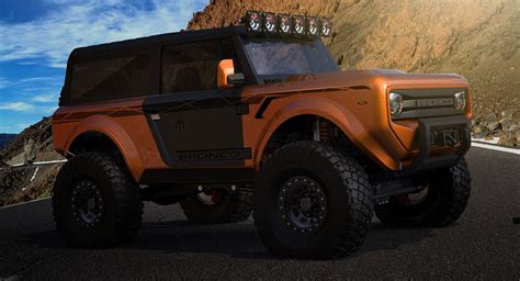 ford bronco   box  jeep wrangler carscoops