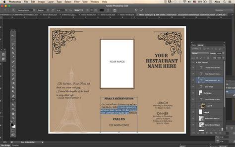 design templatestri fold   menu menu templates