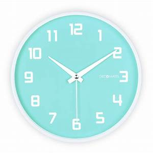 Fruity Blueberry Silent Wall Clock DECOMATES