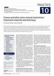 PDF Crowns And Other Extra Coronal Restorations