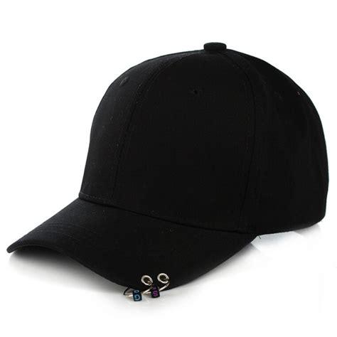 topi baseball cool piercing design aldhny black