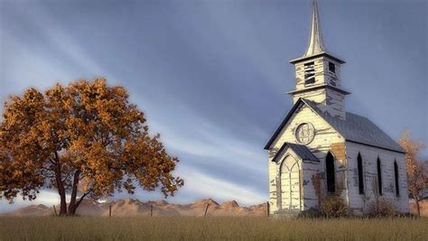 Old Country Church Creationscapes