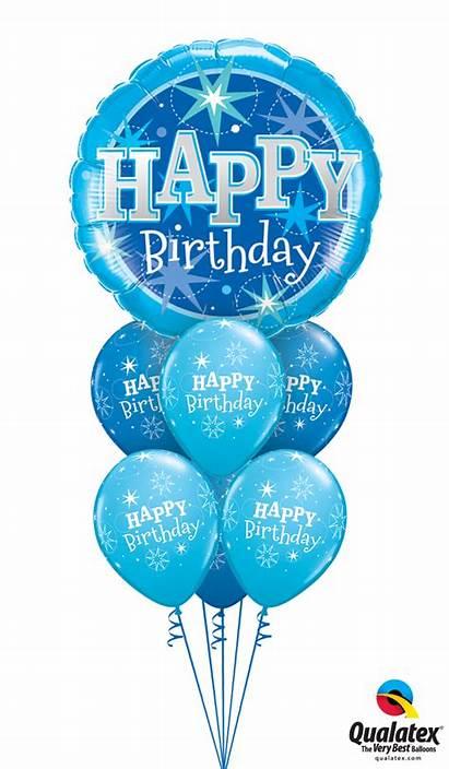 Birthday Happy Balloons Bouquet Balloon Transparent Helium