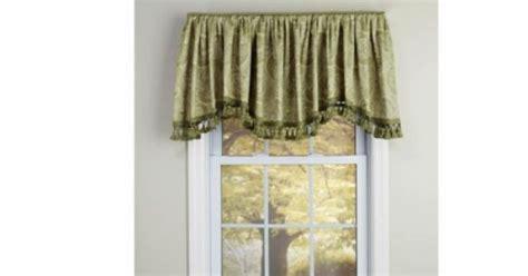 serpentine board mounted valance curtains rod pocket