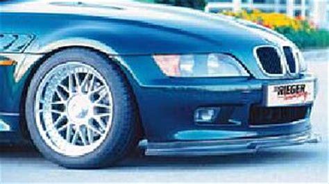 bmw  series rieger tuning body kits aerodynamics front