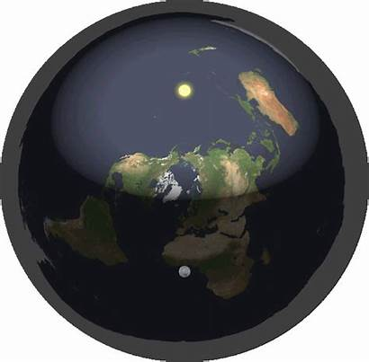 Earth Flat Sphere Moon Nor Relation