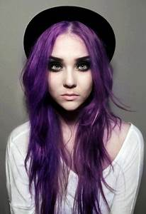 dark purple scene hair | Tumblr