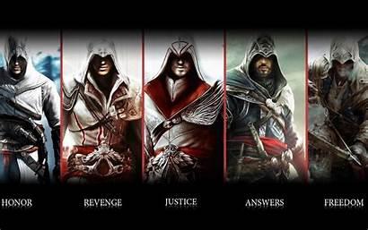 Creed Characters Assassin Character Ac Brotherhood Wallpapers