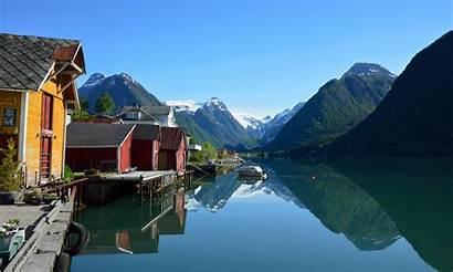 Fjords Screensaver Windows Norway Norwegian Water Western