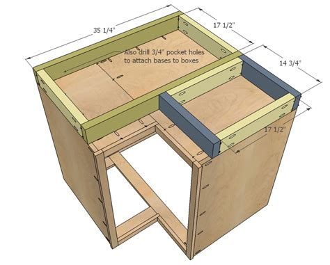 how to build kitchen cabinets free plans build corner kitchen cabinet plans woodworktips