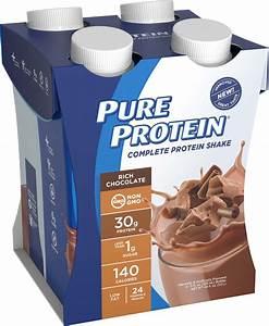 Pure Protein Shake  Rich Chocolate  30g Protein  11 Fl Oz