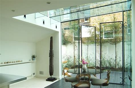 interior glass walls for homes best extension interior design with glass wall best home