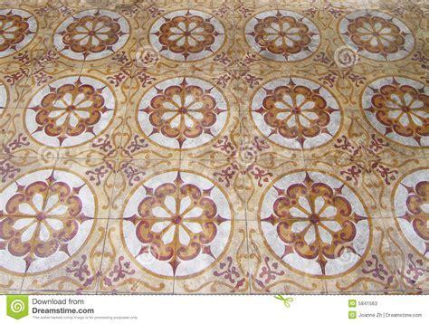 Antique arabic floor tiles stock image. Image of asian